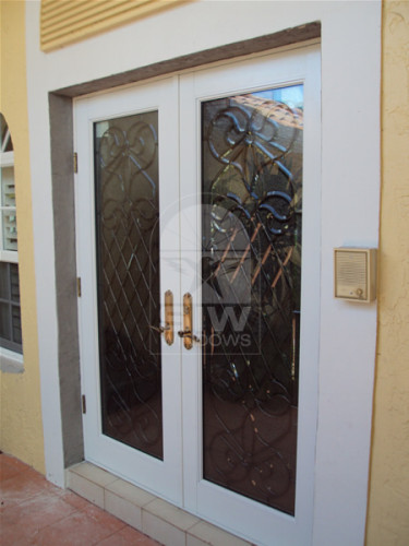 Impact Decorative Entry Door Florida Coastal Windows