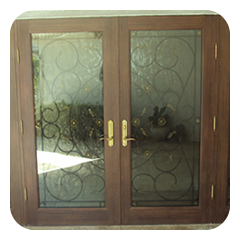Impact Decorative Entry Door